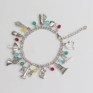 Jewelry - How I Met Your Mother Charm Bracelet Bangle NEW
